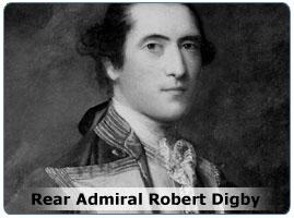 Rear Admiral Robert Digby